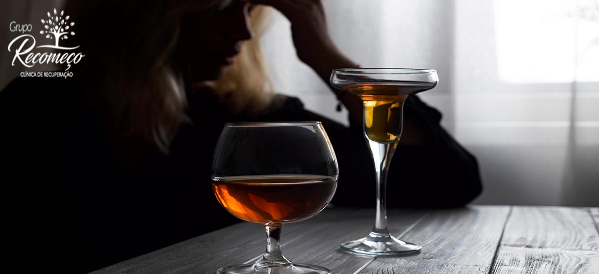 alcoolismo para as mulhres